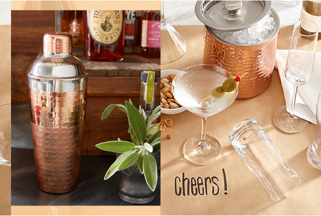 Get inspired by bar themed tablescapes.