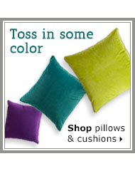 Shop pillows and cushions