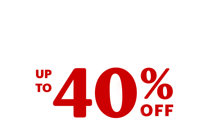Great deals on brands you love. Up to 40% off past-season styles
