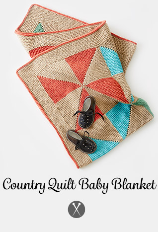 Country Quilt Baby Blanket