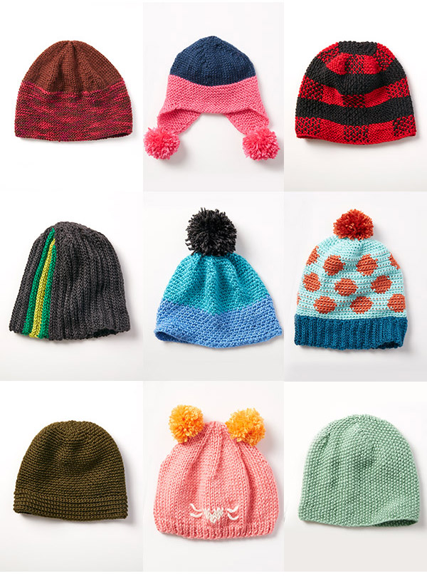 Collection of Beanie Hats