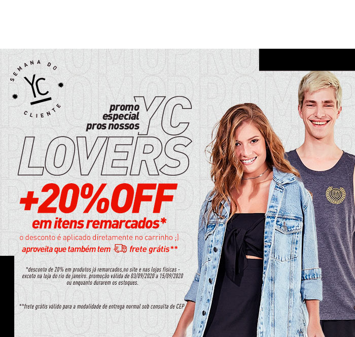 Promo yc lovers | Geral