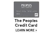 Peoples Credit Card