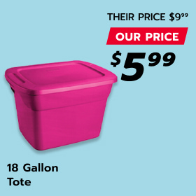 Image of 18 Gallon Tote Container
