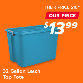 Image of 32 Gallon Top Tote