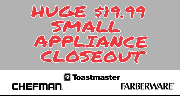 appliance closeout